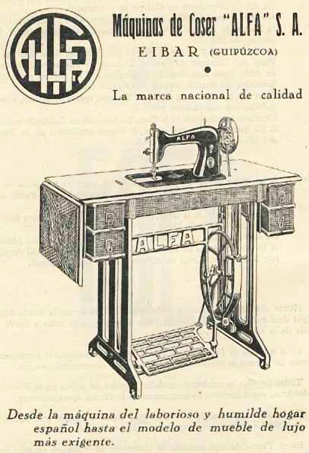 Ilustración con el logo de Alfa  años 20