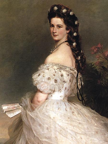 Emperatriz Elizabeth de Austra (Sissi) /por Worth