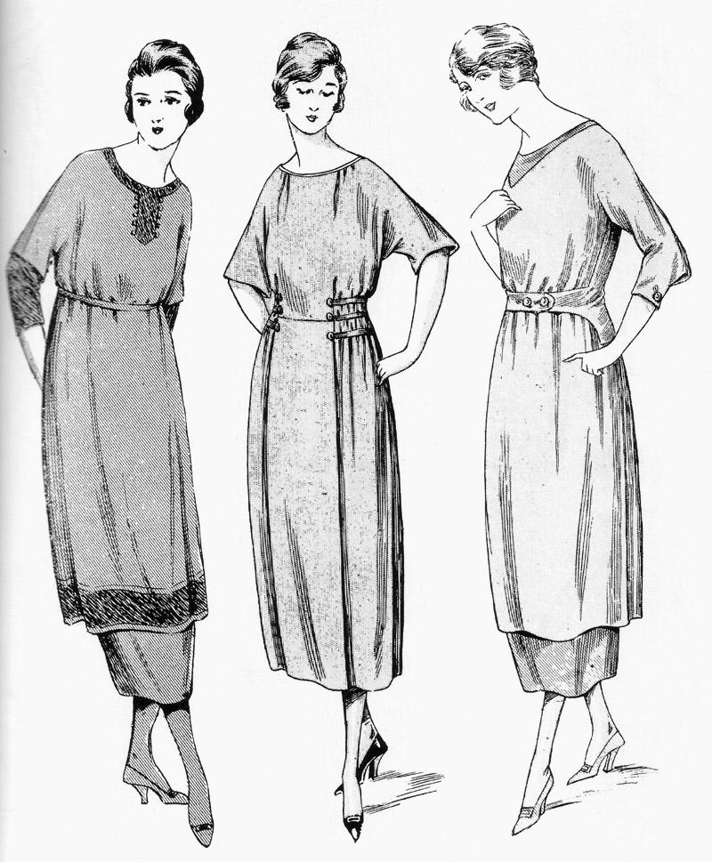 Figurín moda 1920