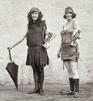 Trajes de baño 1910-20