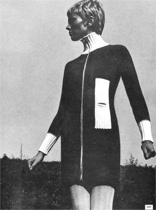 Modelop revista Vogue años 60