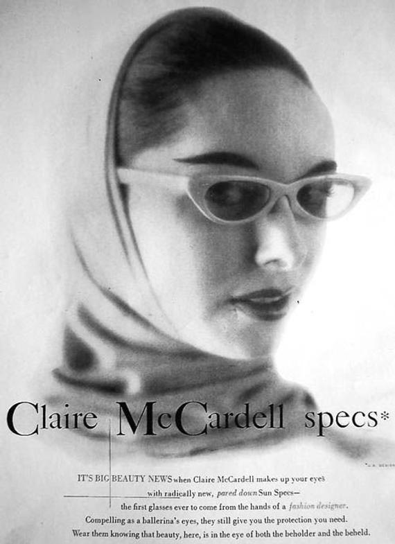 Gafas de sol por McCardell colección Sun Specs 1950