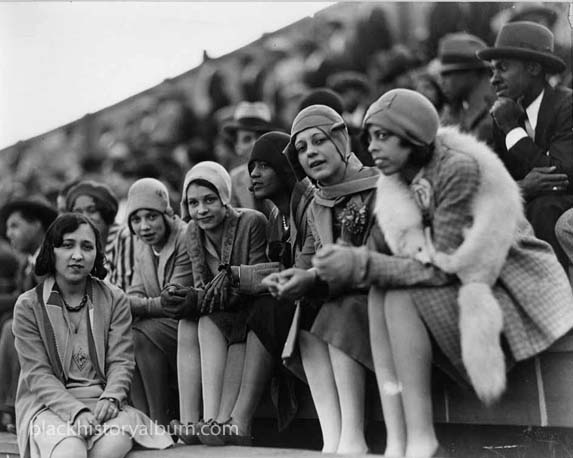 Flappers. Howar Universidad -1920s