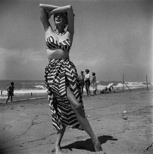 Conjunto de playa por McCardell 1954