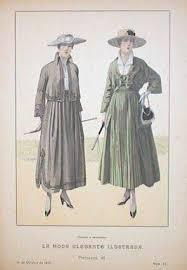 """""""La Moda Elegante"""" 1910"""