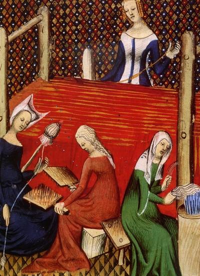 tejedoras siglo XV