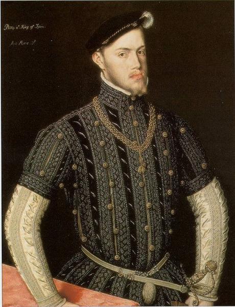 1550, Principie Felipe de España
