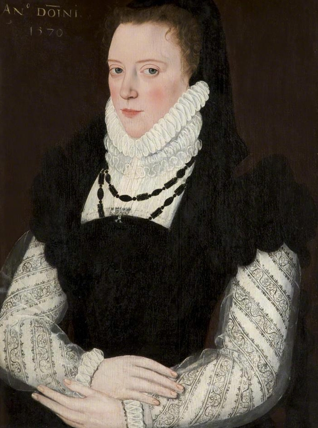 Margaret de Austria duquesa de Parma 1570