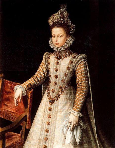 1579, Infanta Isabel  Clara Eugenia.