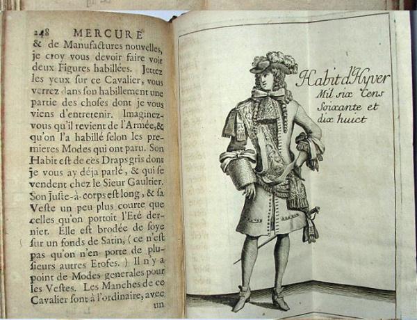 """""""Mercure Galant """" 1702"""