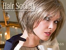 Catalogue de perruques pour femme Hair Society