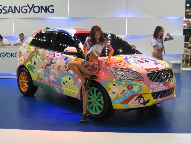 ssangyong actyon new 2011
