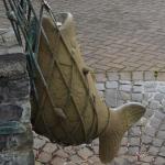 Brunnen in Hanau Klein-Auheim, Michael Franke, 1987