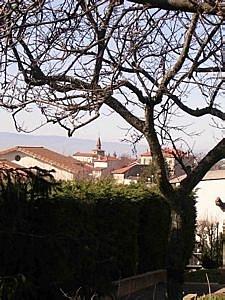 Le village vu du hameau du Duret.