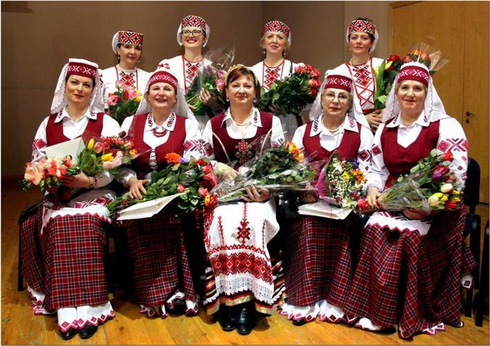 """Klaipėdos baltarusių dainų ir šokių kolektyvas """"Kupalinka"""" švenčiantis 10 metų jubiliejų"""