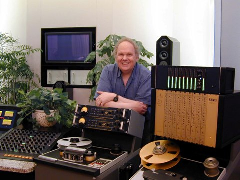 "Bob Rudwig ""Gateway Matsering & DVD"" Studio with EAR 1 inch Tape Machine"