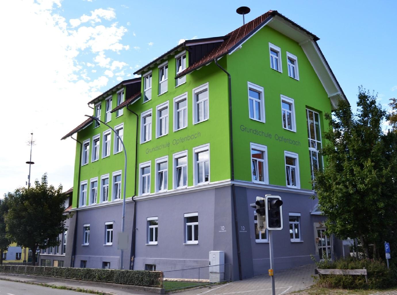 Energetische Sanierung Grundschule in Opfenbach - Fertigstellung