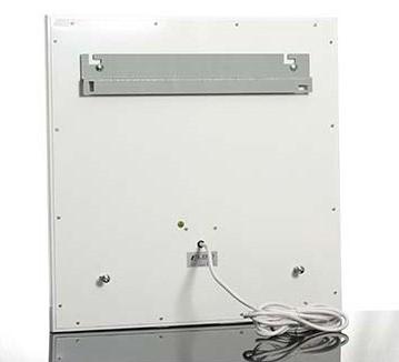 Infrarotheizplatte Standard Rückseite verzinkter Edelstahl