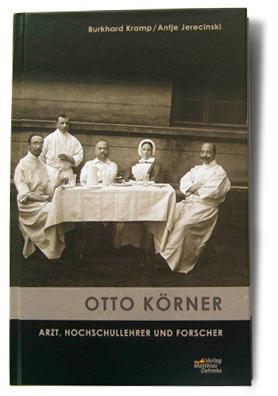 Buchtitel Otto Körner, Verlag Matthias Oehmke