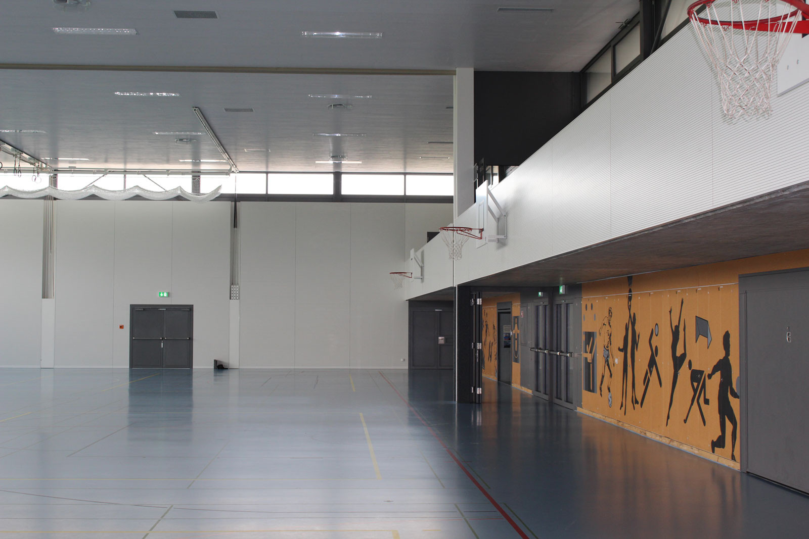 Geisshubel gymnasium, Zollikofen, von Allmen Architekten AG, Bern
