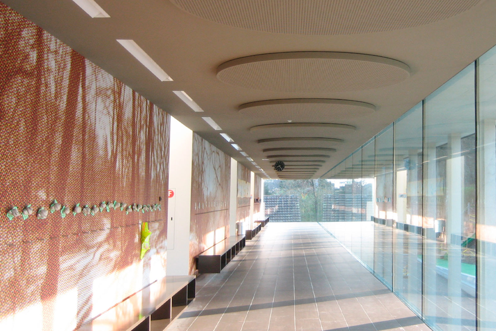 Niederscherli school building, Graber Pulver Architekten, Bern