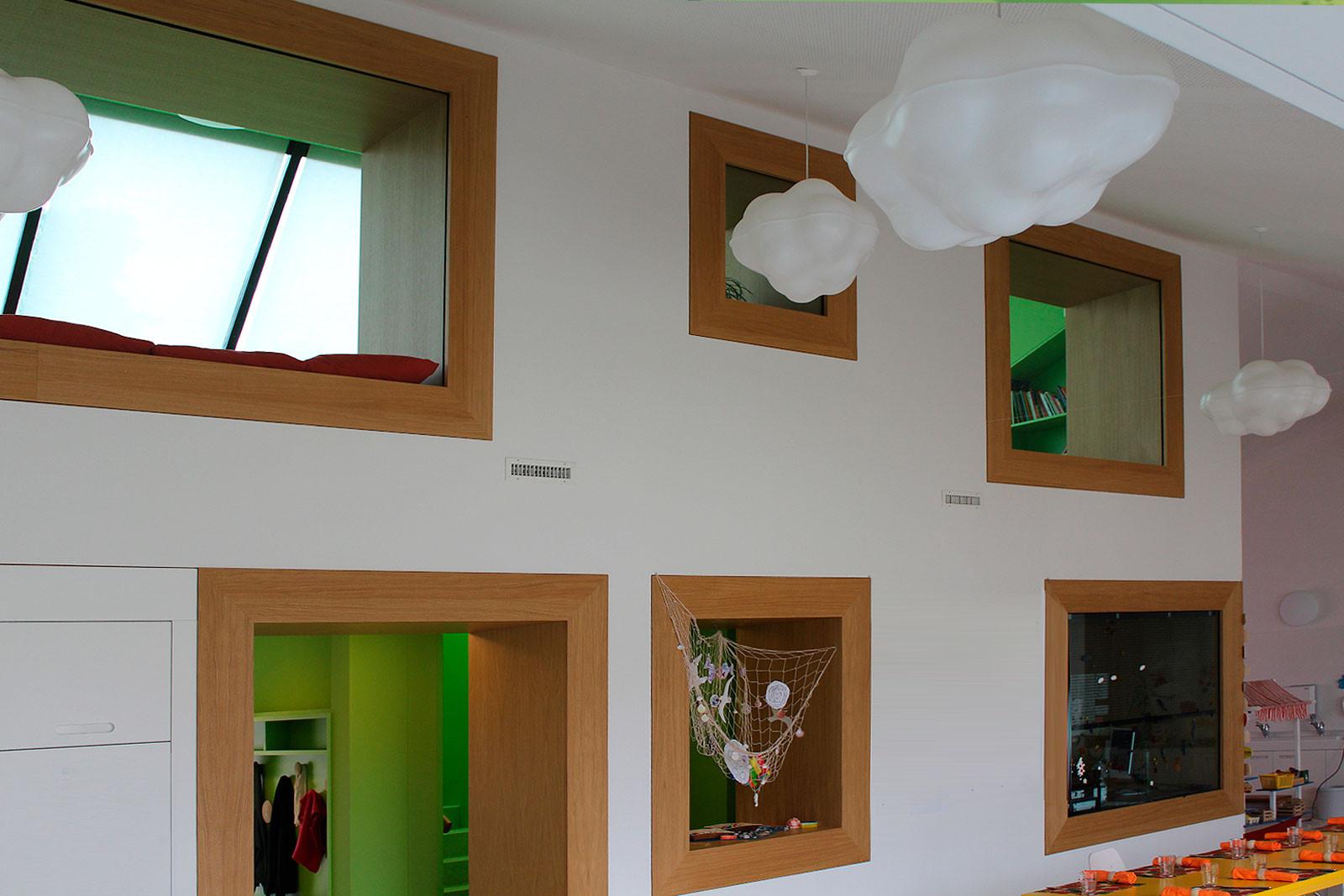 Tagesschule Horbern, Muri, rollimarchini Architekten Bern
