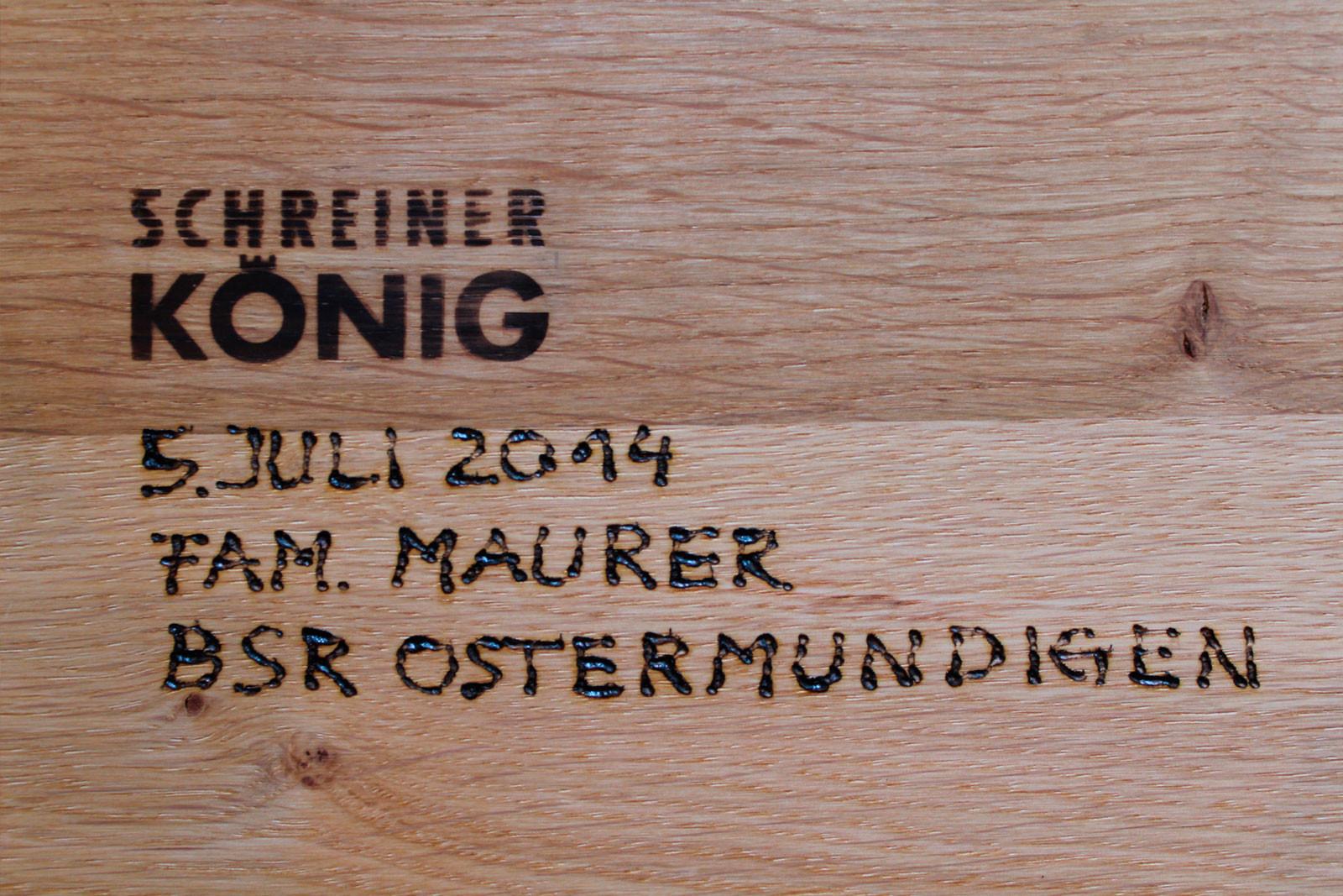 BSR Ostermundigen, Design Schreiner König