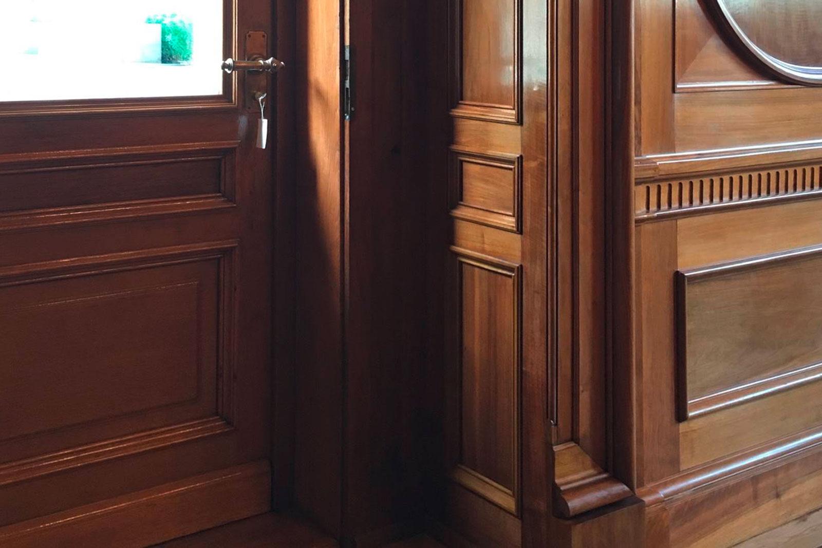 Türe Büro des Ständerates, Aebi & Vincent Architekten AG Bern