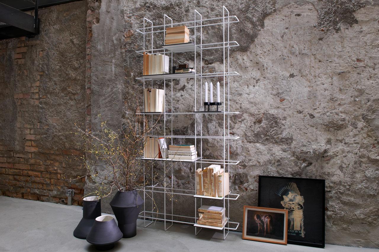 Regal, design by Blended GmbH / Ltd. (www.blndd.com) Foto: Alain Bucher