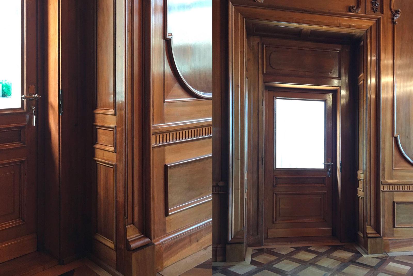 Door, Büro des Ständerates, Aebi & Vincent Architekten AG Bern
