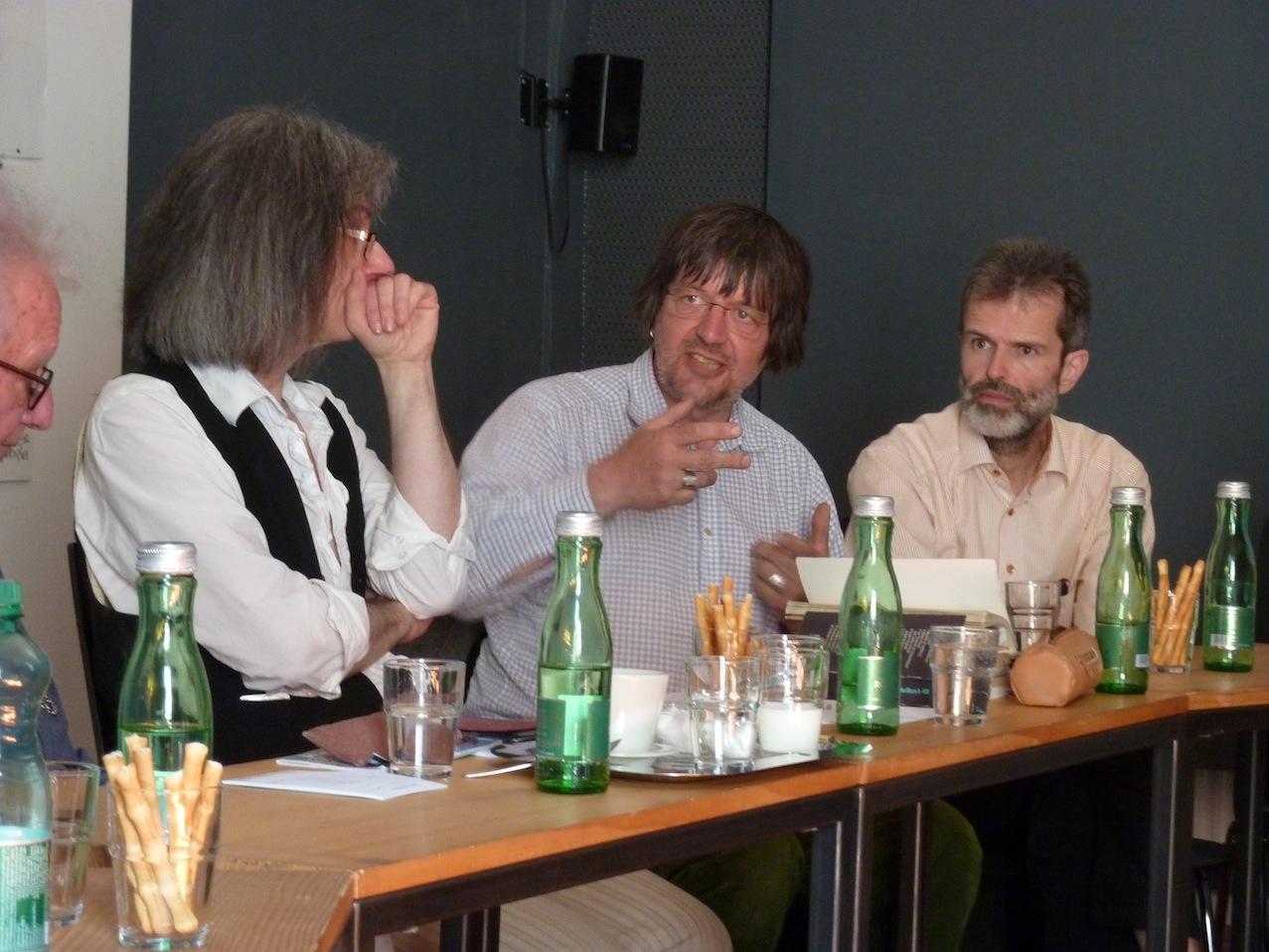 Clemens Nachtmann, Winfried Ritsch, Klaus Dorfegger © D. Mayer