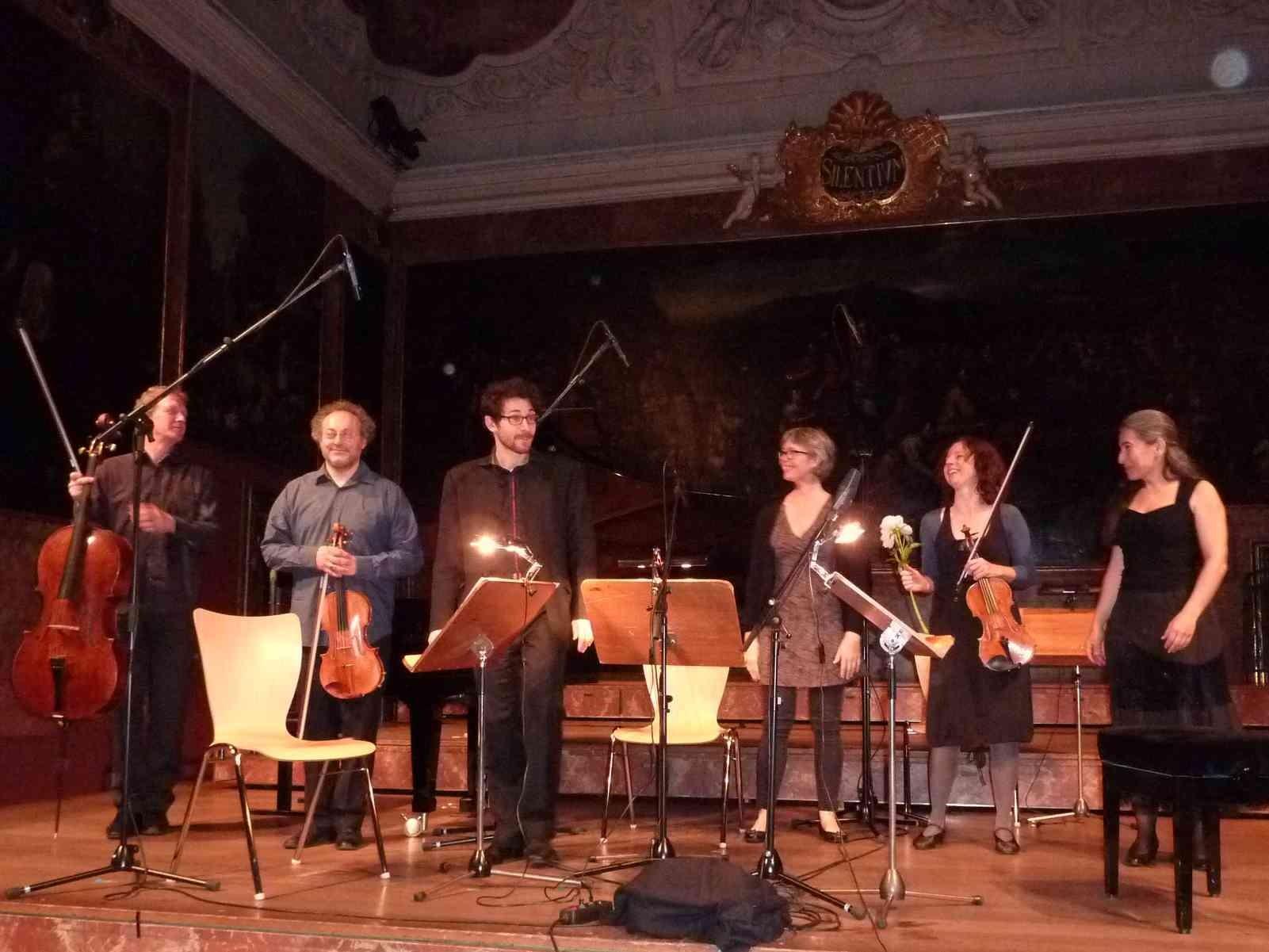 Andreas Lindenbaum, Dimitrios Polisoidis, Olivier Vivares, Annette Bik, Sophie Schafleitner, Janna Polyzoides