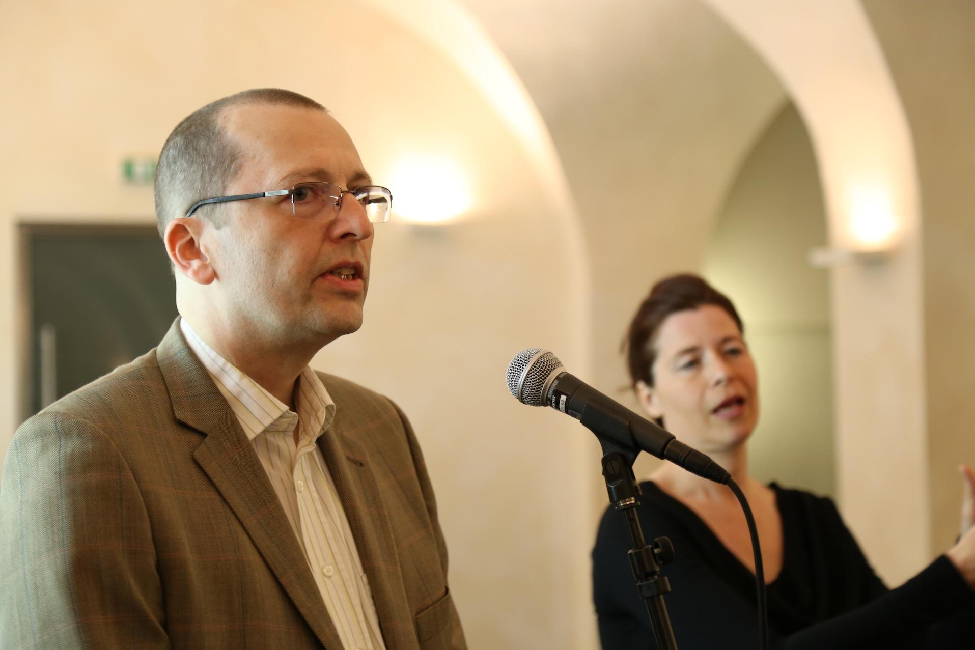 Eröffnung - Daniel Mayer, Ilona Seidel-Jerey © J. Rauchenberger
