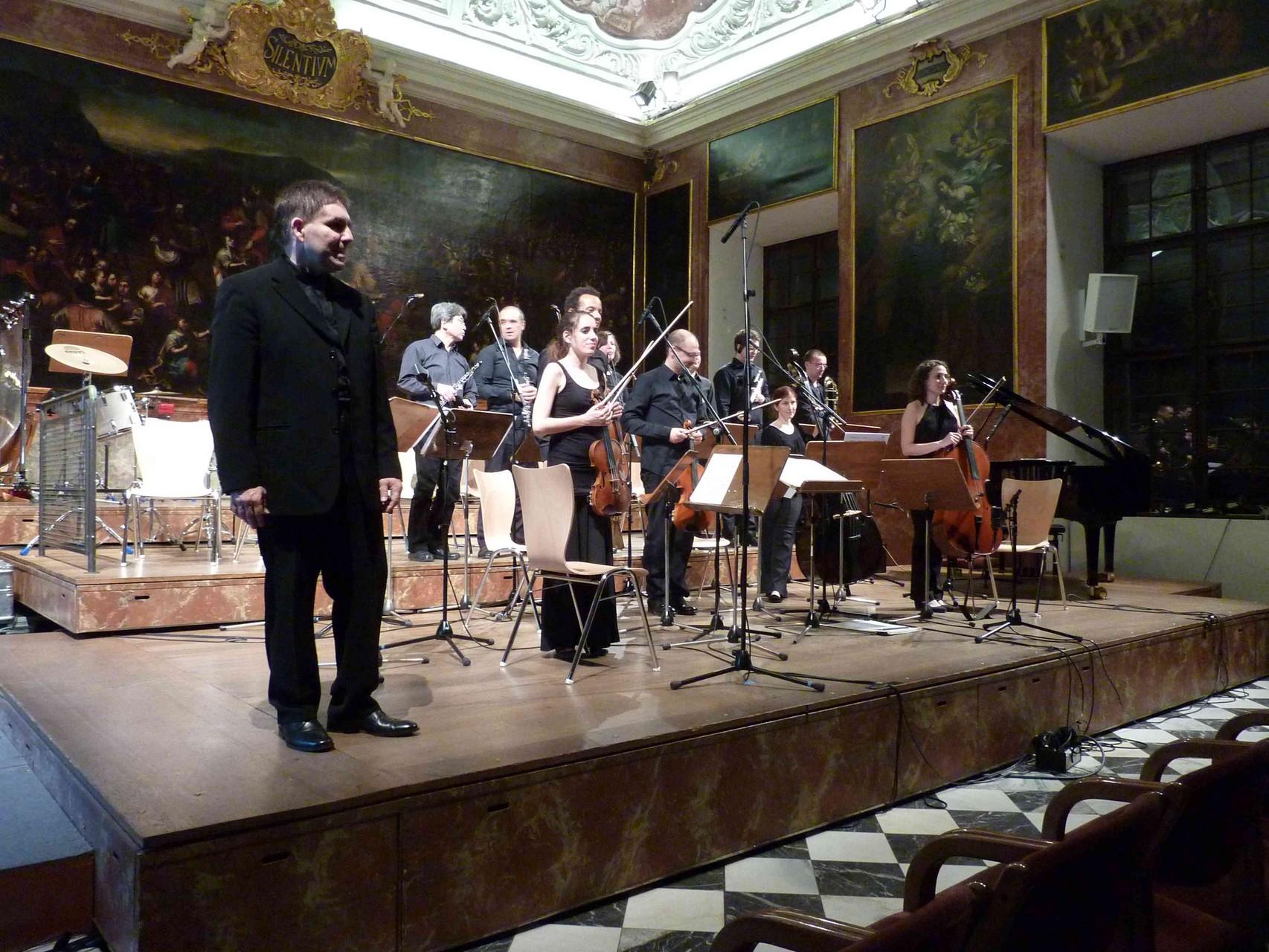 Ensemble Zeitfluss, Dirigent Edo Micic
