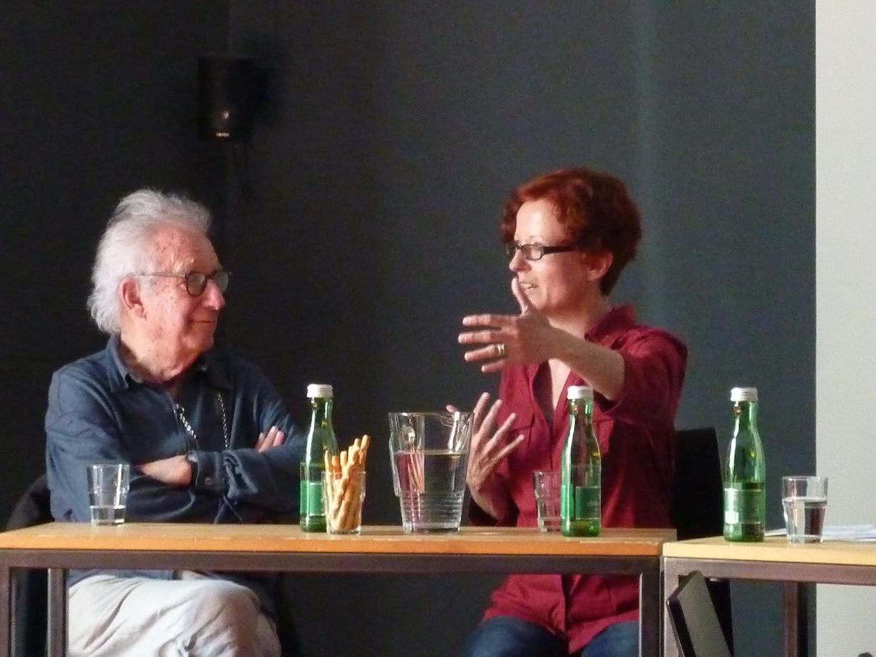 Dieter Schnebel, Elisabeth Harnik © D. Mayer