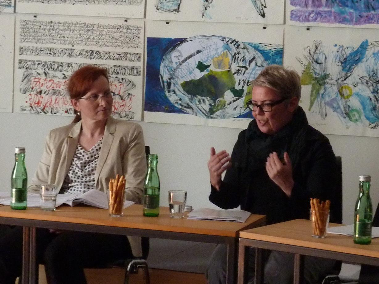 Christa Brüstle, Pia Palme © J. Rauchenberger