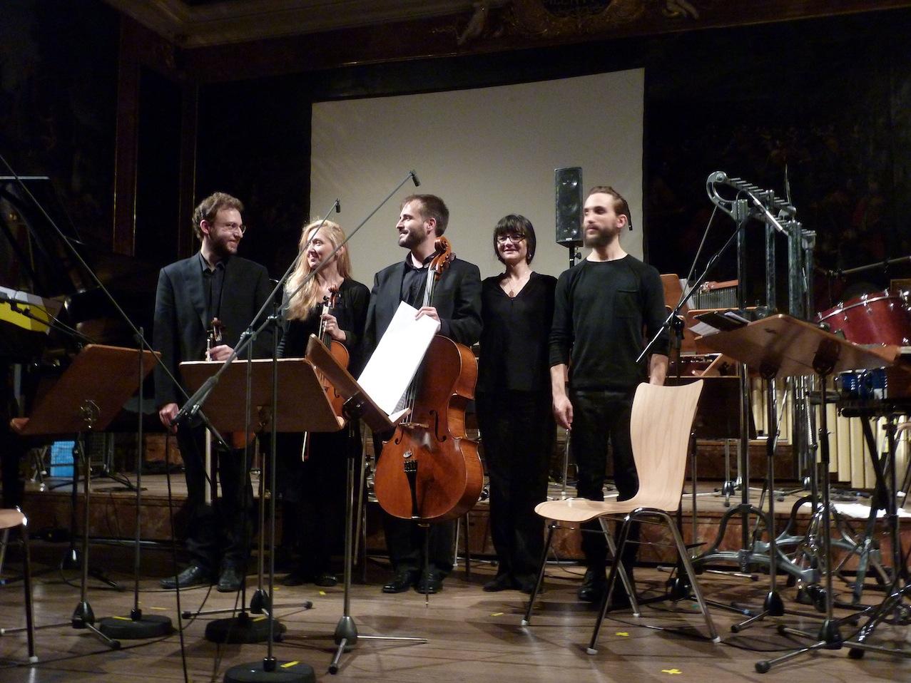 Lorenzo Derinni, Emilia Gladnischka, Esteban Belinchon, Maria Flavia Cerrato, Christian Pollheimer © D. Mayer