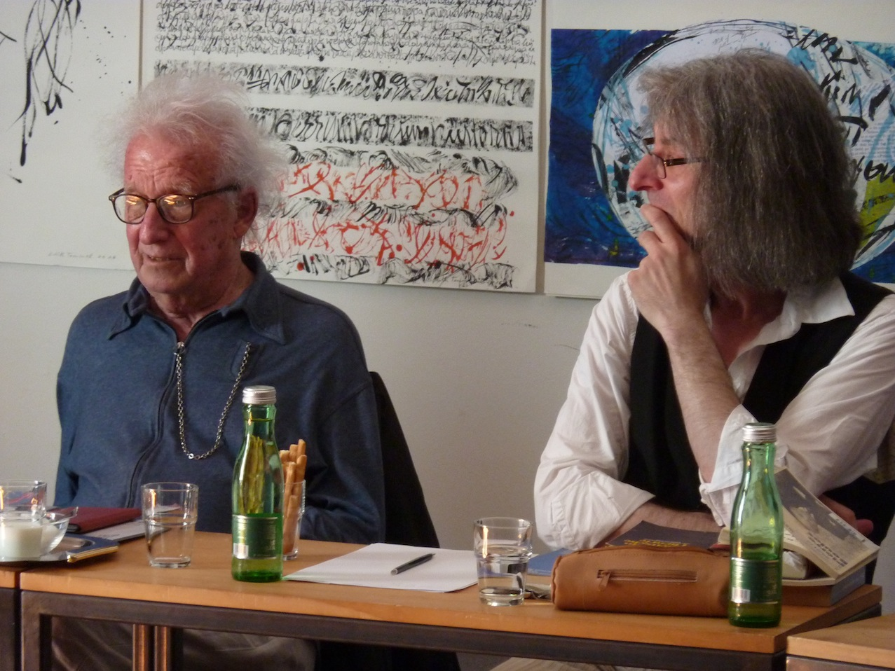 Dieter Schnebel, Clemens Nachtmann © D. Mayer