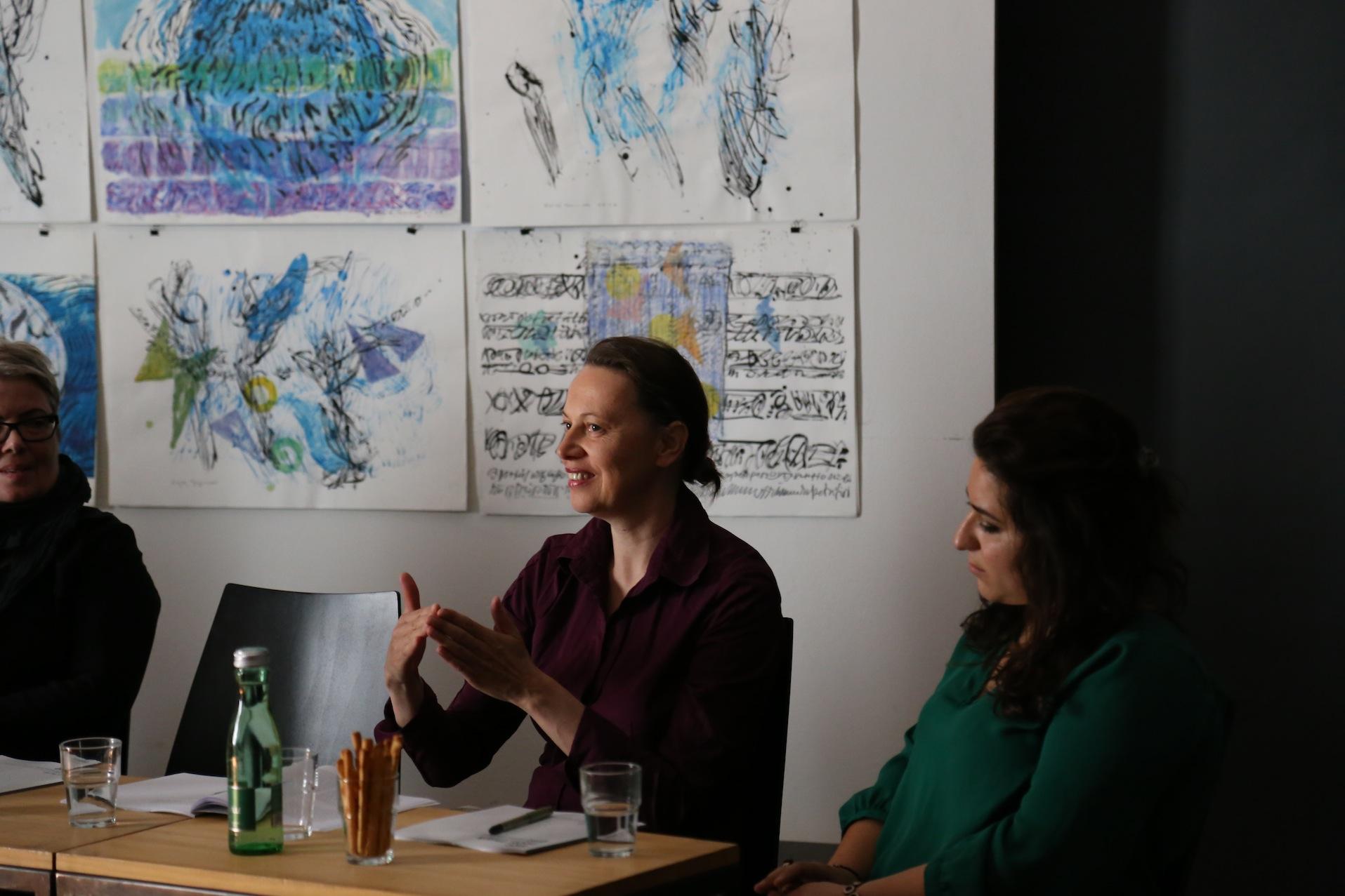 Pia Palme, Elfriede Reissig, Anahita Abbasi © J. Rauchenberger