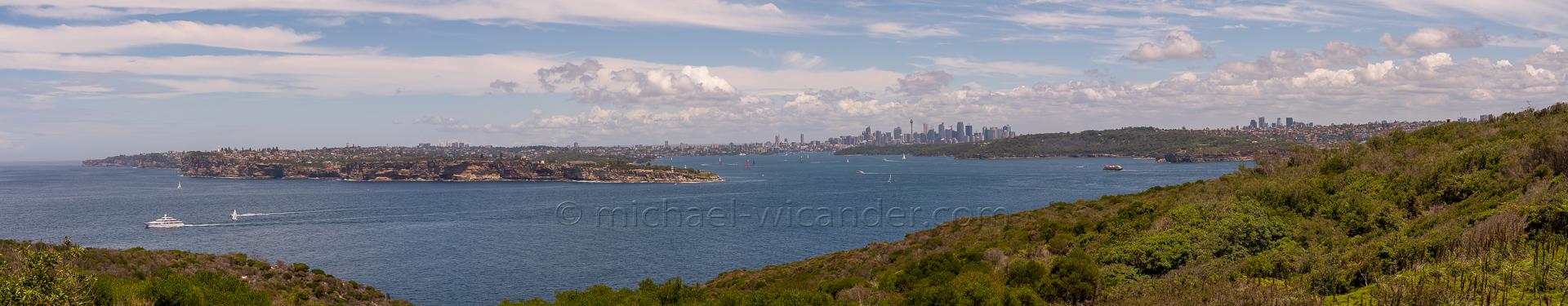 Sydney Skyline Panorama 19 12
