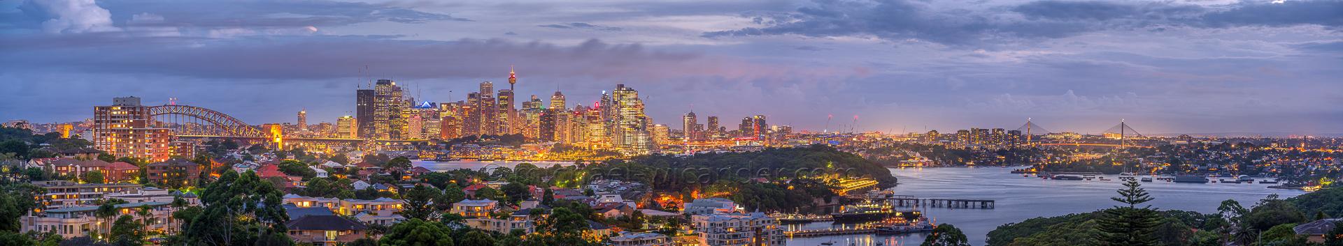 Sydney Skyline Panorama 19 05