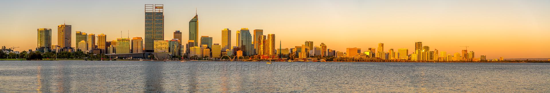 Perth Skyline Panorama 19 09