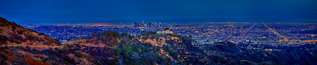 LA with Griffith Observatory 05