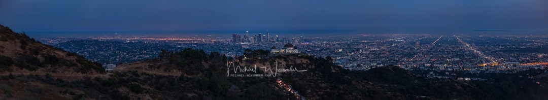 LA with Griffith Observatory 04