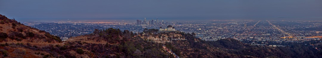 LA with Griffith Observatory 03