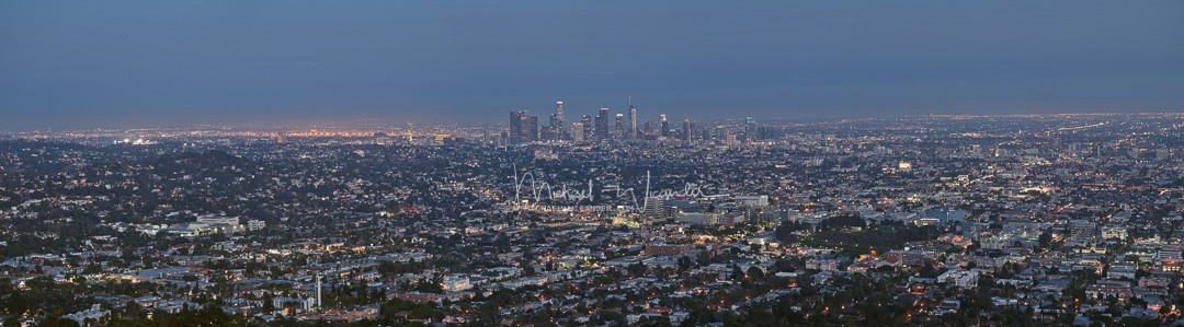 LA from Griffith Observatory 02