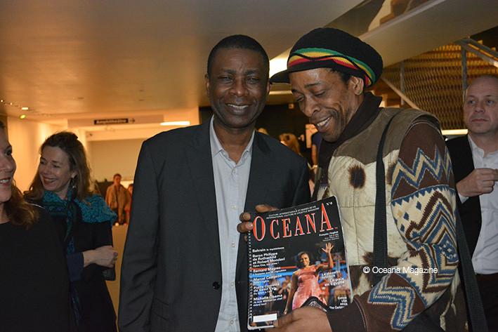 Youssou N'Dour et Jackson Suriam / Great black music 10 03 14