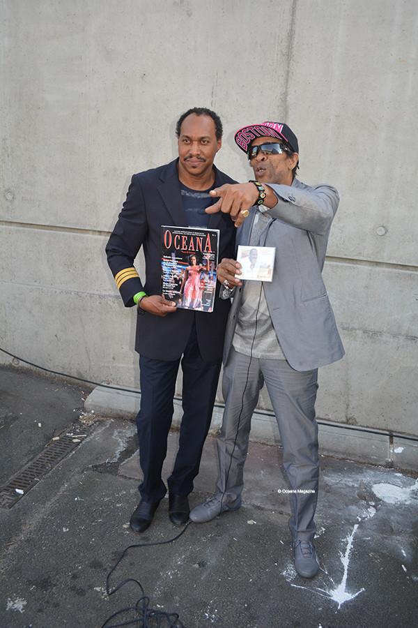 Jean-Michel Cabrimol et Jackson Suriam
