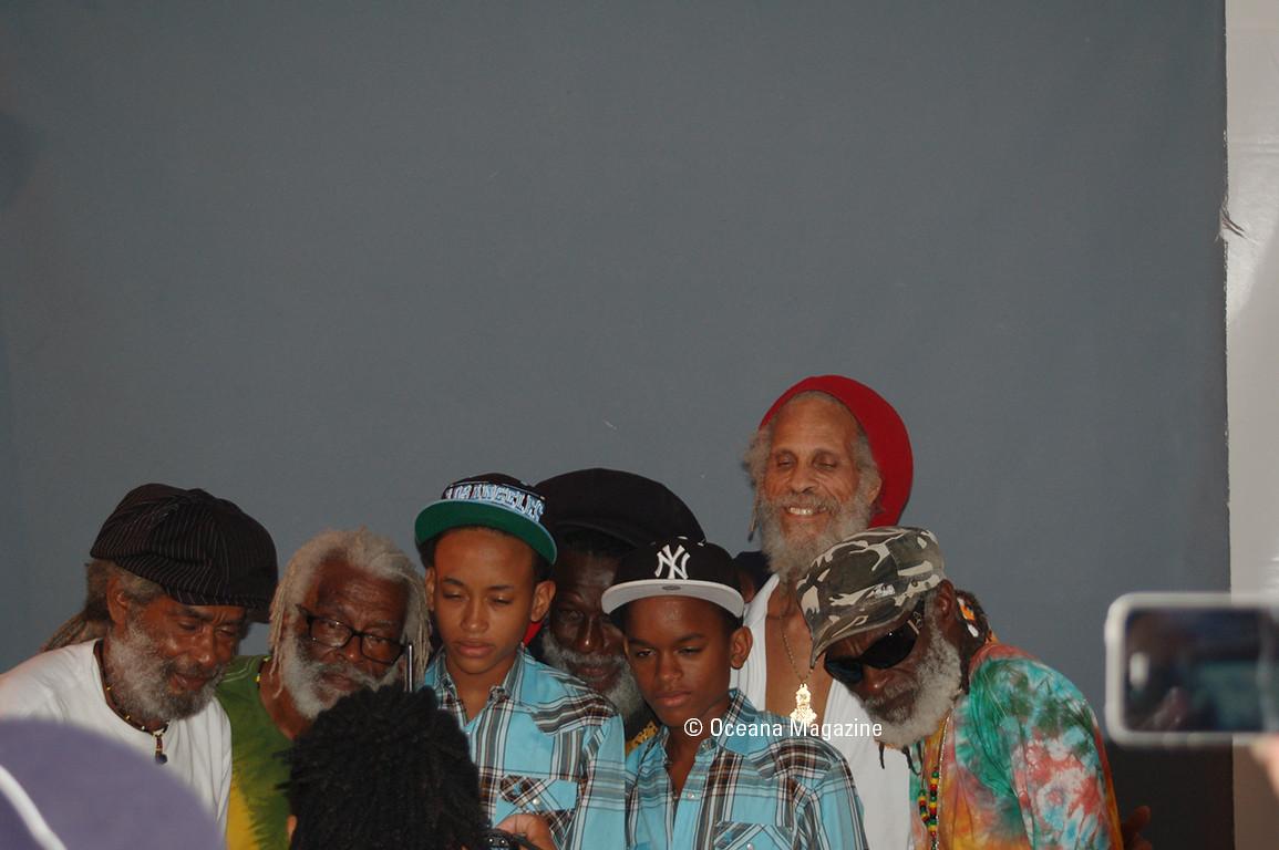 Conférence de Presse, The Congos et Max Romeo au Festival Reggae Sun Ska 15 ème édition