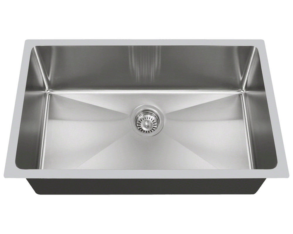 90 Degree Stainless Steel Undermount Sinks Custom